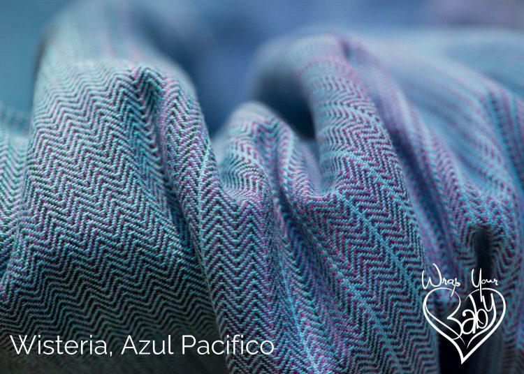 Girasol Wisteria Azul Pacifico weft