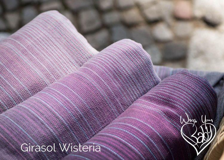3 Wisteria Girasol Woven Wraps
