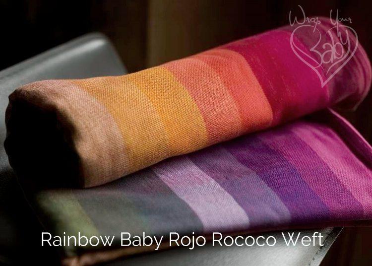 Girasol Rainbow Baby Rojo Rococo Weft