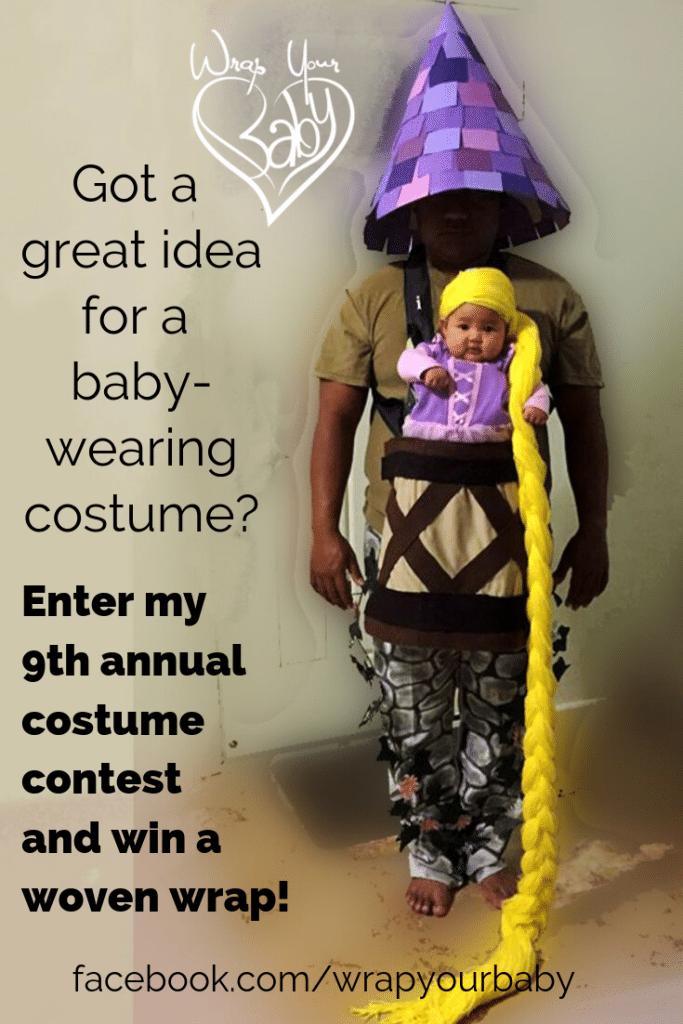 Creative Babywearing Halloween Costume