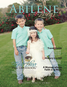 Abilene Living Cover - Spring 2014
