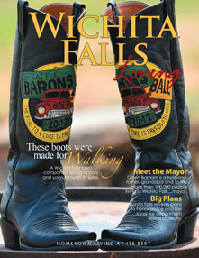 Wichita Falls Living Cover - Summer 2013