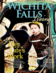 Wichita Falls Living Cover - Winter 2012