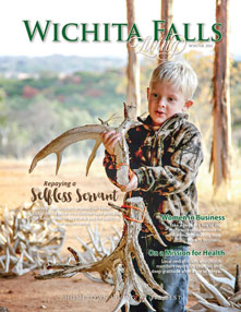 Wichita Falls Living Cover - Winter 2015