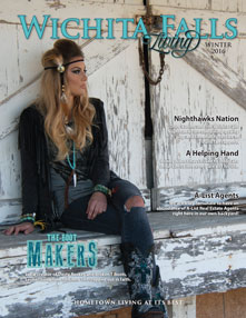 Wichita Falls Living Cover - Winter 2016