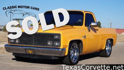 1986 Chevrolet C10 Silverado    Lubbock, Texas   Classic Motor Cars in Lubbock, Texas