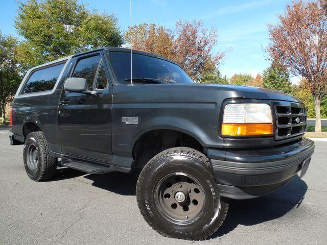 1996 Ford Bronco XLT Leesburg, Virginia 1