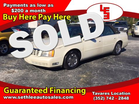 2001 Cadillac DeVille DHS in Tavares, FL