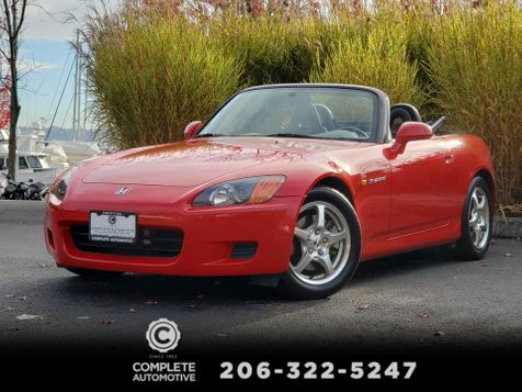 2002 Honda S2000 Roadster Only 49,000 Miles 1 Owner Full History EXCELLENT! in Seattle