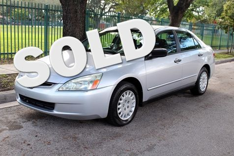 2003 Honda Accord DX in , Florida