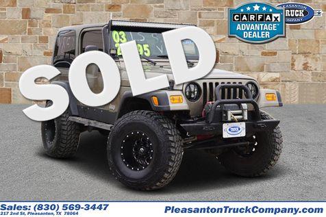 2003 Jeep Wrangler X | Pleasanton, TX | Pleasanton Truck Company in Pleasanton, TX