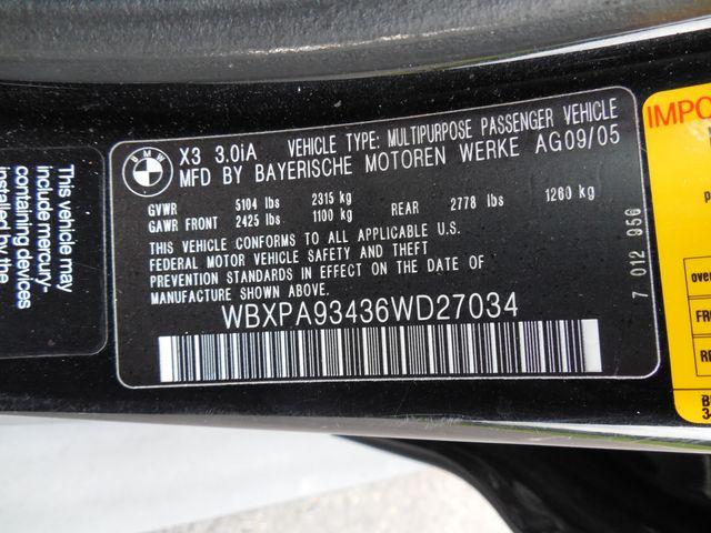 2006 BMW X3 3.0i 3.0I Leesburg, Virginia 58