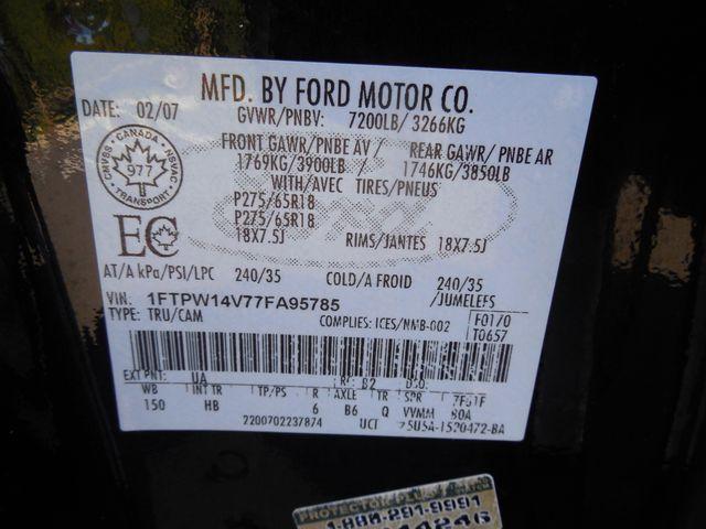 2007 Ford F-150 Lariat 4X4 Leesburg, Virginia 36