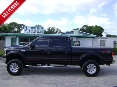 2007 Ford F250 4X4 SUPER DUTY CREW in Fort Pierce, FL