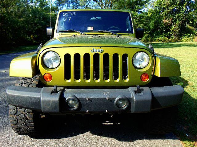 2007 Jeep Wrangler Unlimited Sahara Leesburg, Virginia 6