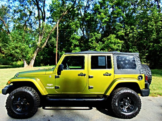 2007 Jeep Wrangler Unlimited Sahara Leesburg, Virginia 4