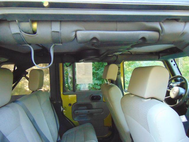 2007 Jeep Wrangler Unlimited Sahara Leesburg, Virginia 25