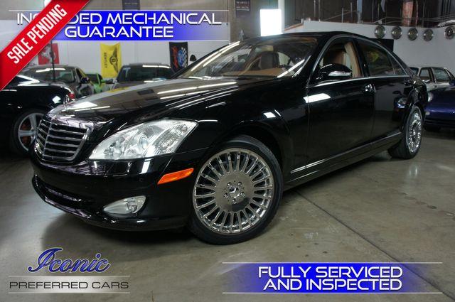 2007 Mercedes-Benz S550 5.5L V8 | Tempe, AZ | ICONIC MOTORCARS, Inc. in Tempe AZ