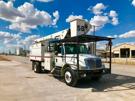 2008 International 4300 FORESTRY ELEVATOR BUCKET TRUCK  in Fort Worth, TX