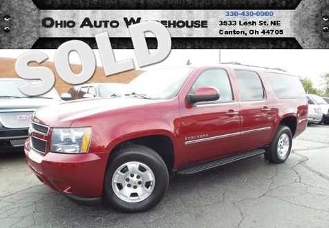 2011 Chevrolet Suburban LT 4x4 Leather 3rd Row Clean Carfax We Finance | Canton, Ohio | Ohio Auto Warehouse LLC in Canton, Ohio