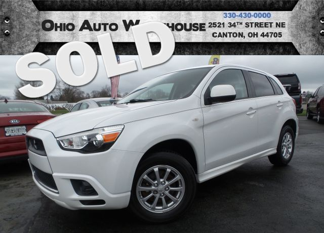 2011 Mitsubishi Outlander Sport ES Used Cars In Canton, OH 44705