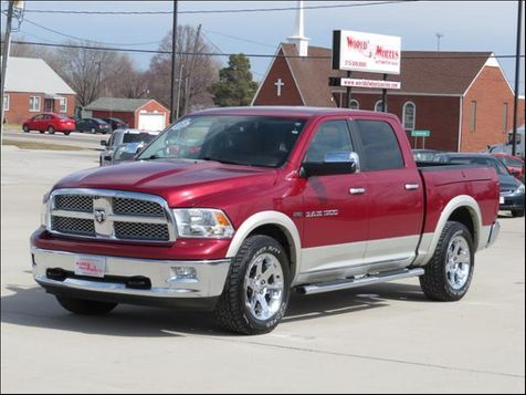 2011 Ram 1500 Laramie Crew Cab 4WD Leather/RAMBOX/Navigation  in Ankeny, IA