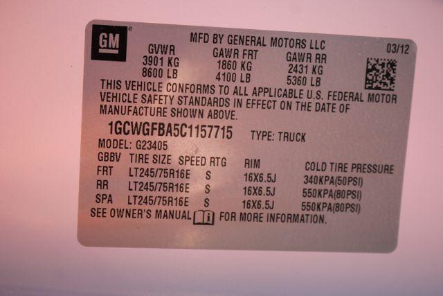 2012 Chevrolet Express Cargo Van Work Van Mooresville , NC 12