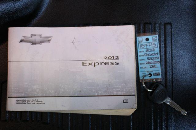 2012 Chevrolet Express Cargo Van Work Van Mooresville , NC 24