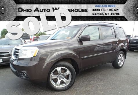 2012 Honda Pilot EX-L 4x4 Tv/DVD Sunroof Cln Carfax We Finance | Canton, Ohio | Ohio Auto Warehouse LLC in Canton, Ohio