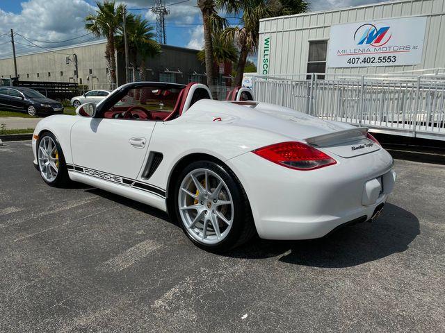 2012 Porsche Boxster Spyder Longwood, FL 2