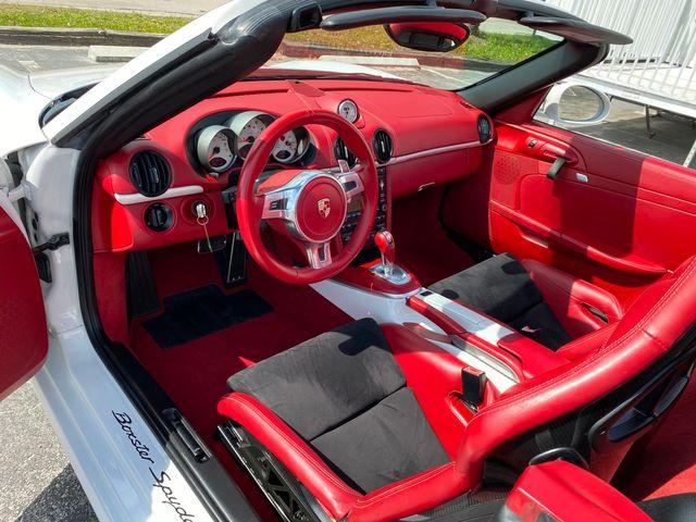 2012 Porsche Boxster Spyder Longwood, FL 20