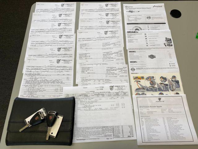 2012 Porsche Boxster Spyder Longwood, FL 56
