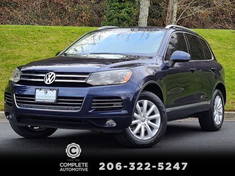 2012 Volkswagen Touareg TDI Lux 4Motion Diesel All Wheel Drive Navigation Pano Roof NICE  in Seattle