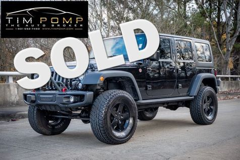 2015 Jeep Wrangler Unlimited Rubicon 2 TOPS LEATHER LIFTED   Memphis, Tennessee   Tim Pomp - The Auto Broker in Memphis, Tennessee