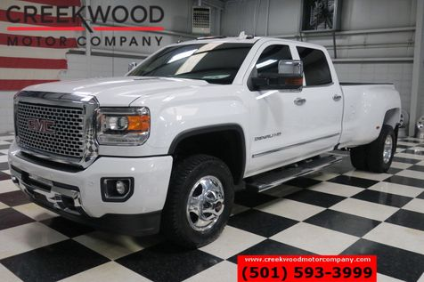 2016 GMC Sierra 3500HD Denali 4x4 Diesel Dually White Chrome NewTires Nav in Searcy, AR