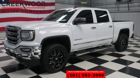 2017 GMC Sierra 1500 SLT 4x4 Z71 White 6.2L Leather 20s 1 Owner CLEAN in Searcy, AR