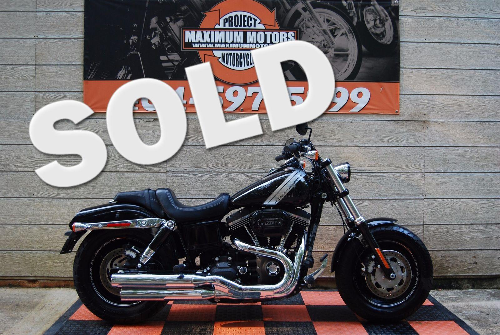 Harley-Davidson Dyna®  2017 FXDF Dyna Fat Bob Like New 899 miles Very Minor Salvge Damage- We Ship !!!