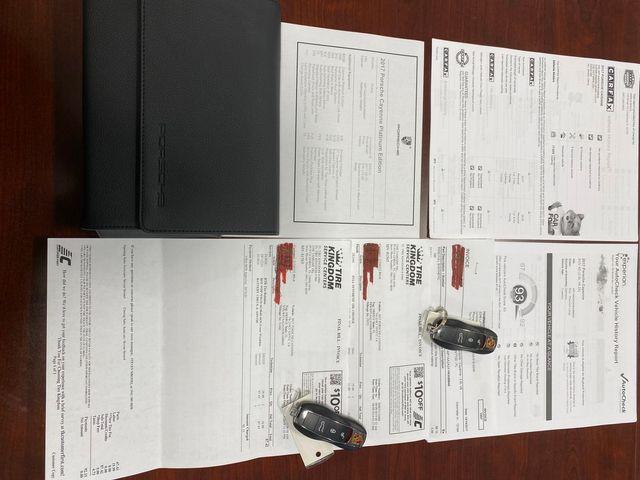 2017 Porsche Cayenne Platinum Edition Longwood, FL 69