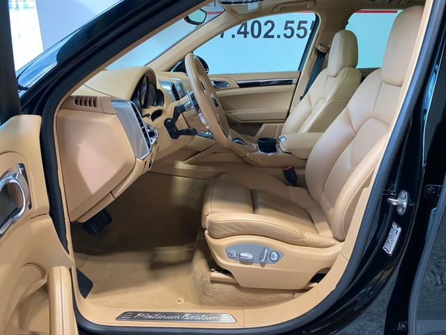 2017 Porsche Cayenne Platinum Edition Longwood, FL 21