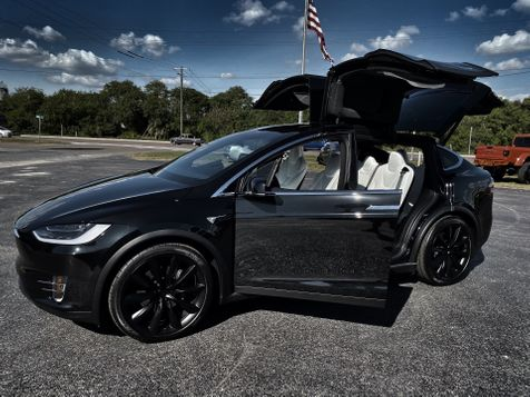 2018 Tesla Model X OBSIDIAN BLACK WHITE PREMIUM 22