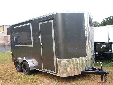 2019 Cargo Craft Enclosed 7x14 7Ft Interior TailGater TV Package in Madison