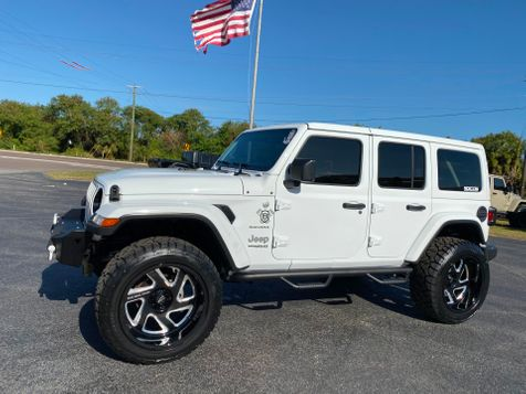 2019 Jeep Wrangler Unlimited WHITE-OUT CUSTOM SAHARA LEATHER HARDTOP in , Florida