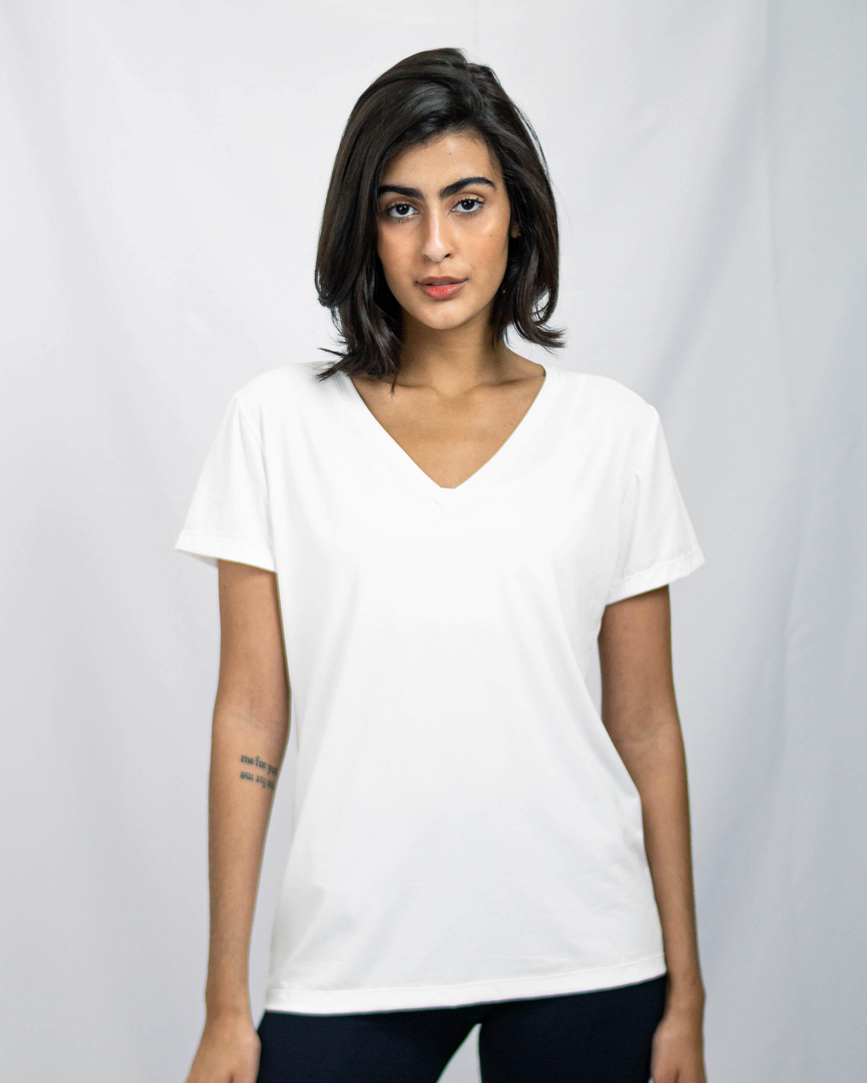 Blusa Carolina Branca