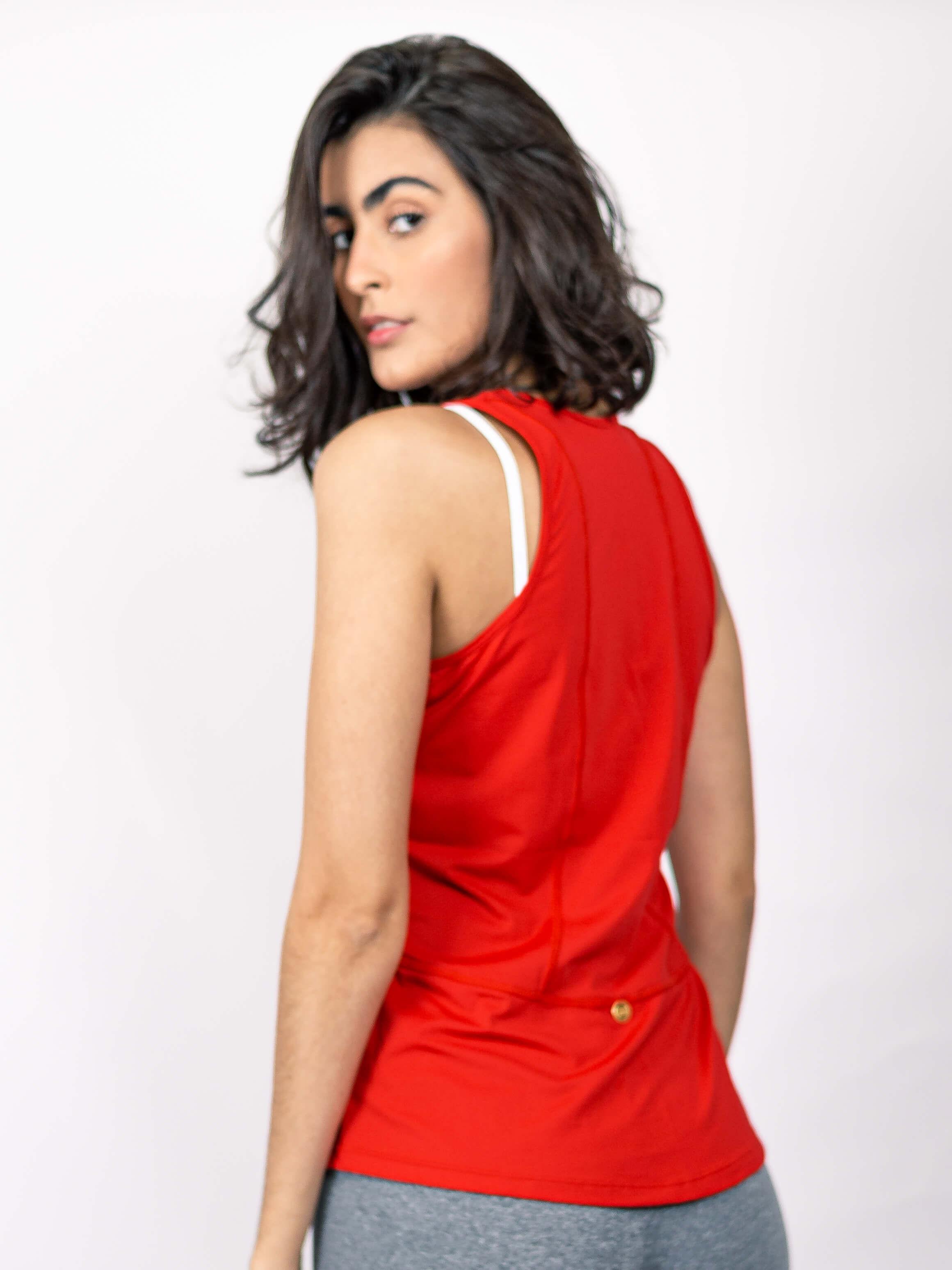 Blusa Alessandra Vermelha
