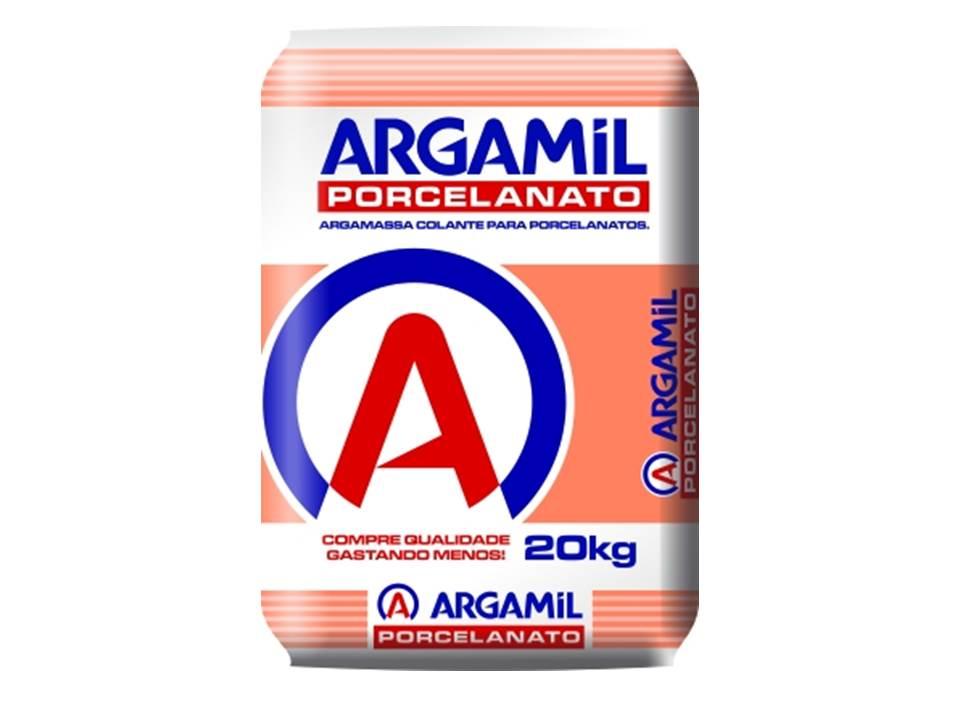 ARGAMASSA ARGAMIL PORCELANATO 20KG