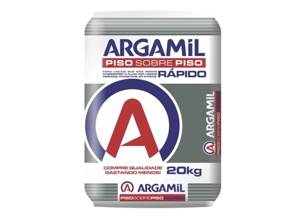 ARGAMASSA ARGAMIL PISO SOBRE PISO - ACIII 20KG