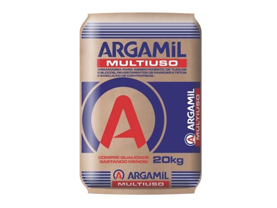ARGAMASSA ARGAMIL MULTIUSO 40 KG