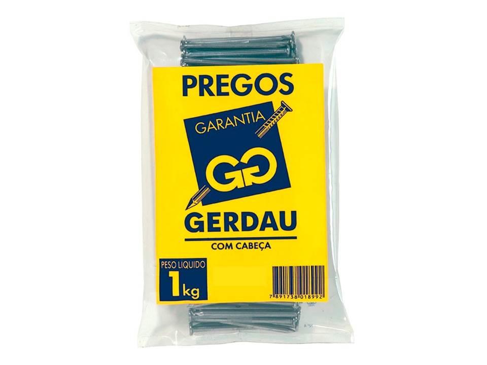 PREGO COM CABEÇA 08 X 08 KG