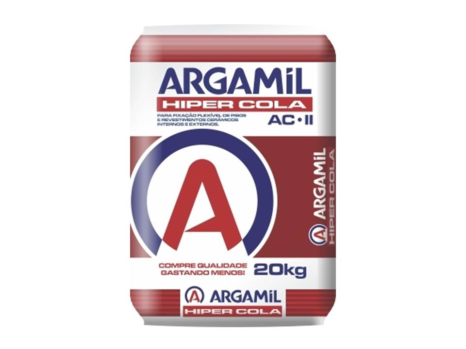 ARGAMASSA ARGAMIL ACII - USO EXTERNO 20 KG