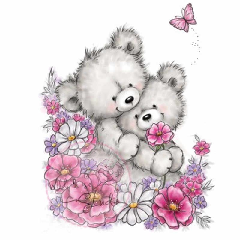 каждой открытки красивые с медвежонком узнать